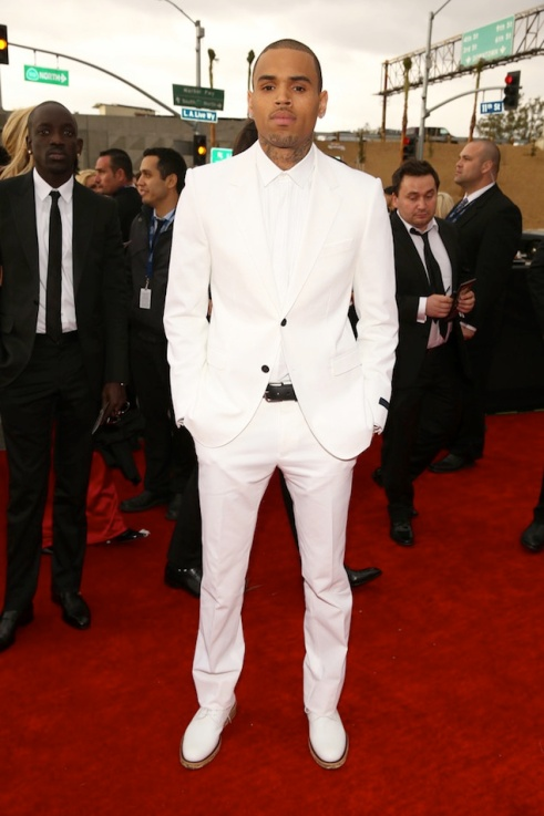Chris-Brown-wearing-White-Lanvin-Tuxedo-and-white-leather-derby-shoes-lanvin-spring-summer-2013-collection-at-55th-Annual-Grammy-Awards-6
